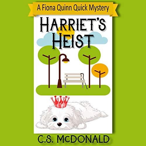 Harriet's Heist audiobook cover art