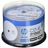hp(ヒューレット・パッカード) データ用CD-R ホワイト・ディスク(SPケース) 50枚