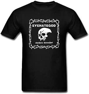 Men's Eyehategod Band Logo Sludge Metal T-Shirt Short Sleeve