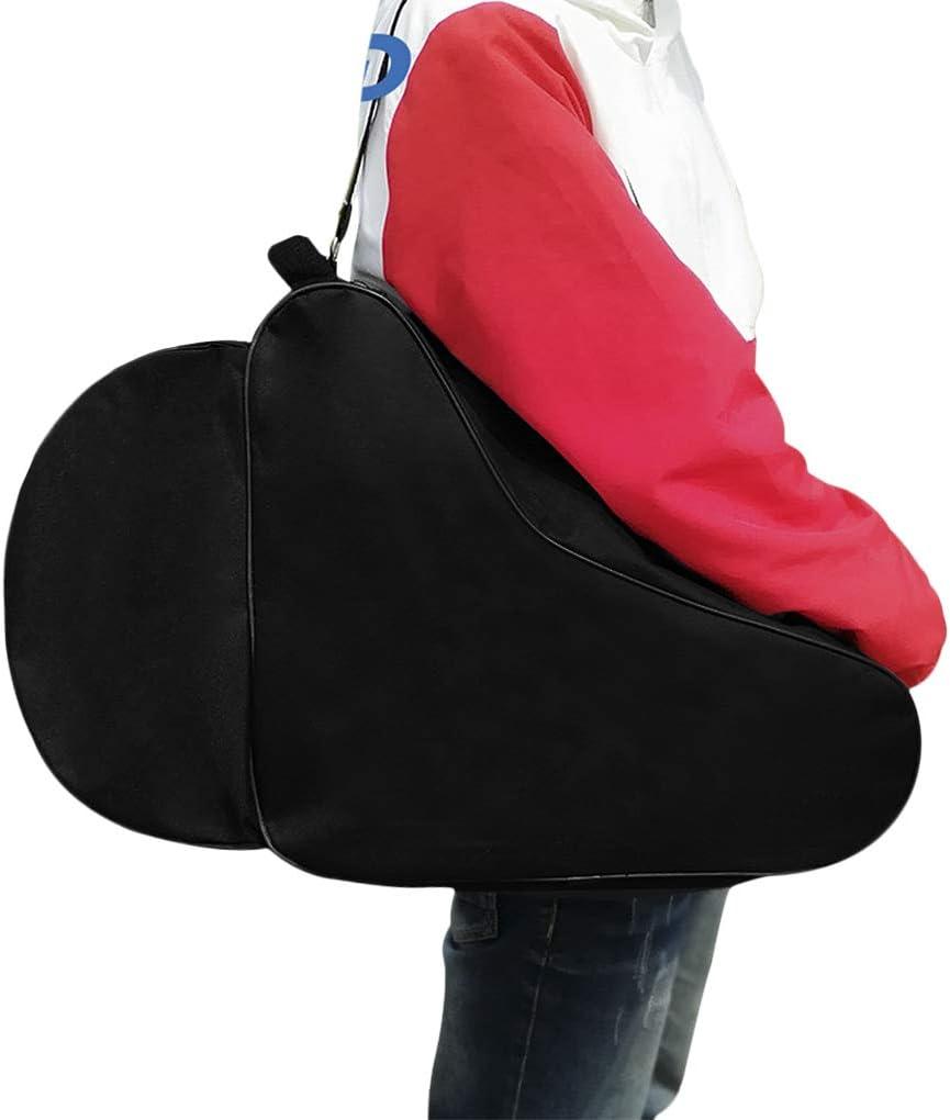 Ylucky Ice Skate Bag for Kids Roller Skates Bag Oxford Cloth Inline Skate Bag Beach Tote Bag Skate Shape Bags Ski Snowboard Boots Storage Bag