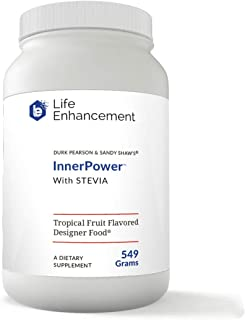Life Enhancement InnerPower with Stevia | Increase Health of Muscles, Memory, and Immune System | Amino Acids, B Vitamins,...