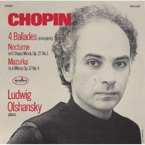Chopin:4 Ballades/Nocturne Op.