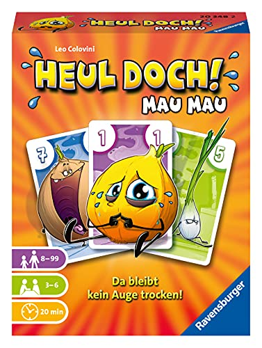 Ravensburger Kartenspiele 20348 - Heul doch! Mau Mau