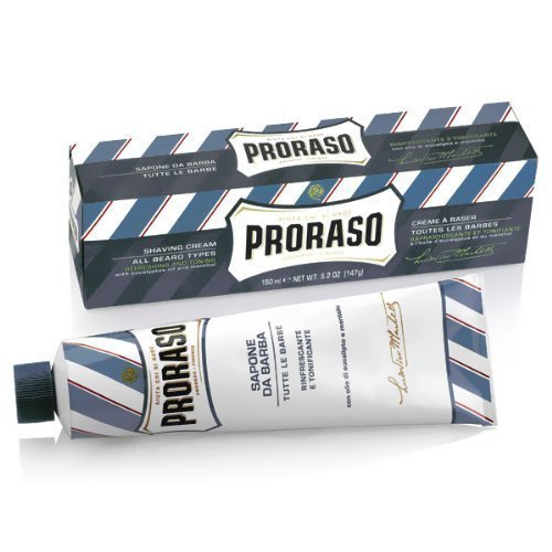 Proraso Aloe and Vitamin E Shaving Cream Tube (150 ml) by Proraso