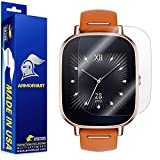ArmorSuit MilitaryShield Full Coverage Anti-Bubble Ultra HD Screen Protector for ASUS ZenWatch 2-1.45 Inch, Pack of 2