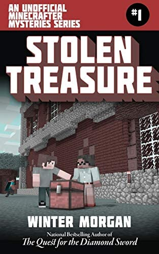 Stolen Treasure An Unofficial Minecrafters Mysteries Series Book One Unofficial Minecraft Mysteries product image