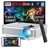 Best Android Projectors - Smart Android Projector A6000Pro Native 1080P Full HD Review