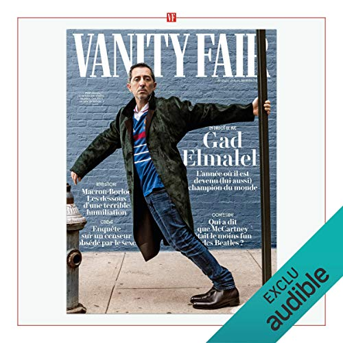 Vanity Fair : novembre 2018 audiobook cover art