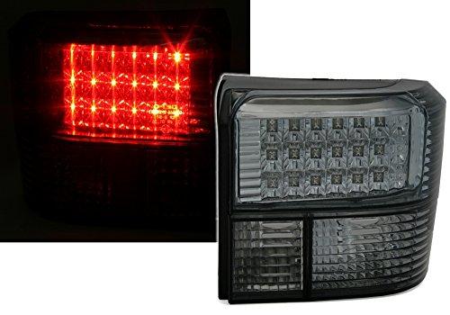 AD Tuning GmbH & Co. KG 960423 Feux arrière LED Set, Noir/Verre Transparent