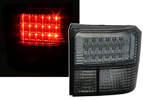 AD Tuning GmbH & Co. KG 960423 LED Rückleuchten Set, Klarglas Schwarz