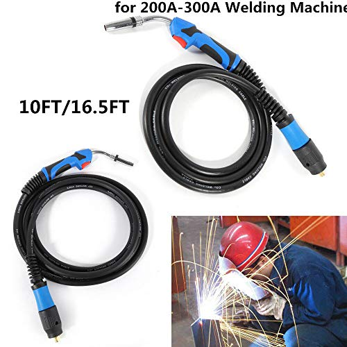 Miller MIG Welding Gun Torch Stinger 200A-300A Welder Parts Replacement 10ft/16.5ft MB-24KD (10FT/3M)