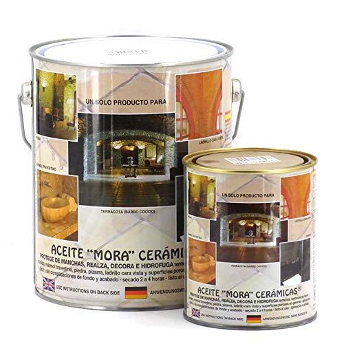 Aceite mora cerámica Mate Cuero - 1 L