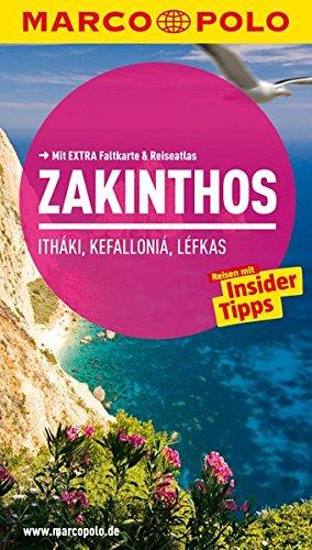 MARCO POLO Reiseführer Zákinthos, Itháki, Kefalloniá, Léfkas: Reisen mit Insider-Tipps. Mit EXTRA Faltkarte & Reiseatlas