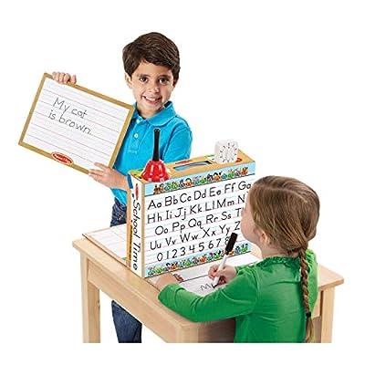 Melissa & Doug School Time! Classroom Play Set Game - Be Teacher or Student from Melissa & Doug