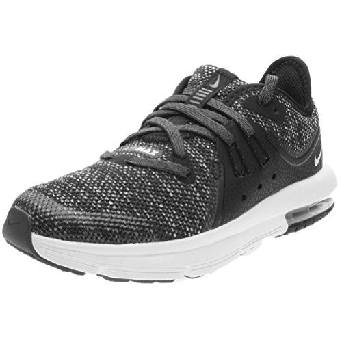 Nike Kids' Preschool Air Max Sequent 3 Running Shoes (13K-M) Black