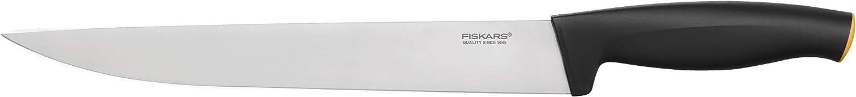 Longitud total: 32 cm 1014200 Functional Form Fiskars Cuchillo para filetear Acero de calidad//Pl/ástico