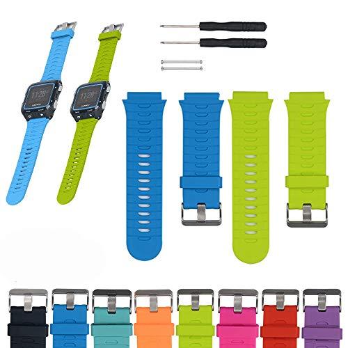 iFeeker Für Garmin Forerunner 920XT Band, Verstellbarer weicher Silikonersatz Handgelenkgurt Uhrenarmband für Garmin Forerunner 920XT GPS Multisport Uhr