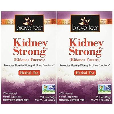 Bravo Teas Kidney Strong, 20 Tea Bags 2 Pack by Bravo Tea