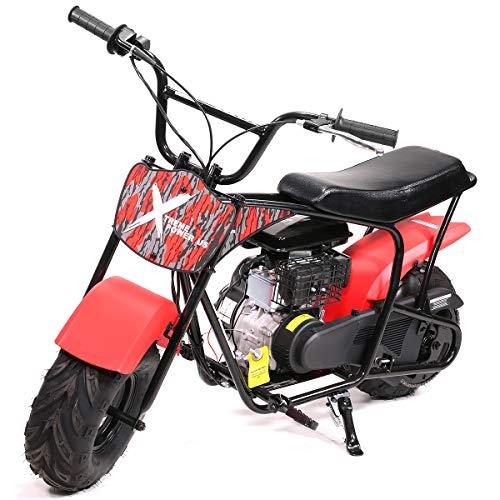 XtremepowerUS Pro 80CC 4-Stroke Kids Dirt Off Road Mini Dirt Bike, Kid Gas Powered Dirt Bike Off...