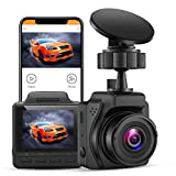Small Dashcam for Cars 2K,UHD 4K Max 30FPS,Blueskysea B2K Dashboard Camera with Buffered Parking Mode Night Vision Super Capacitor WDR G-Sensor Time Lapse Motion Detection Emergency Recording