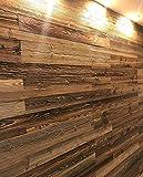 Altholz Wandverkleidung zum Kleben. Vintage Holz Verkleidung. Schnell anzubringende Wandpeneele. Tolle Holzdeko für die Wand. Echtholz Verblender