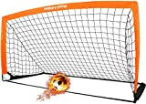 Happy Jump Soccer Goal Soccer Net for Kids Backyard 6'6'x 3'3', 1 Pack