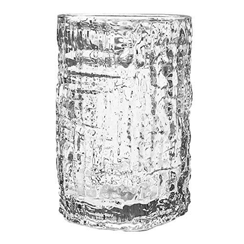 ZWWZ Tazas de Vidrio,Taza de Cristal,Taza de té de Cristal,Vidrio Taza de café,Material de Vidrio sin Plomo,Se Utiliza en Tiendas de Bebidas/Tiendas de té con Leche/Industria de Catering/hogar,etc.
