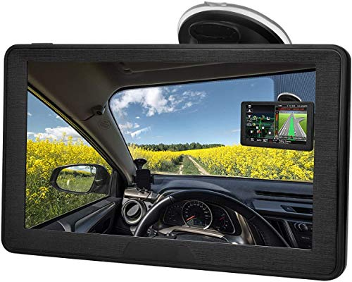 Sat Nav for Car, 7 Inch GPS Navigation Includes Postcodes, Speed Camera Alerts & POI Lane Assistance, Pre-lnstalled UK and EU 2020 Latest Maps Free Lifetime Updates