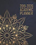 Academic Planner 2019-2020: Elegant Blue Gold Mandala Mindful | Weekly & Monthly Dated High School Homeschool or College Student 8x10 Academic Planner ... (2019-2020 School Year Academic Planner)