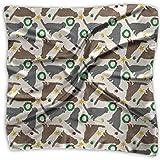 Bandana unisex con stampa piccola, piatta, rivestita per i recuperatori di Natale, cowboy, fascia, fazzoletti, cravatta, sciarpa