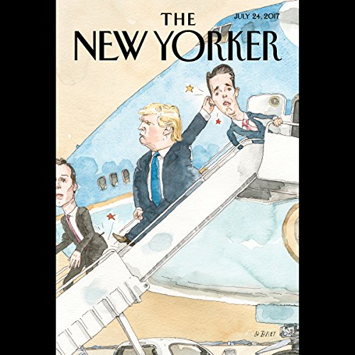 The New Yorker, July 24th 2017 (Danielle Allen, Nathan Heller, and Hua Hsu) cover art