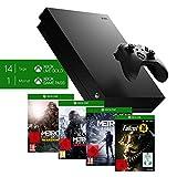 Microsoft Xbox One X, schwarz - Metro Exodus Bundle + Fallout 76: S.P.E.C.I.A.L. Edition [Xbox One] (exkl. bei Amazon)