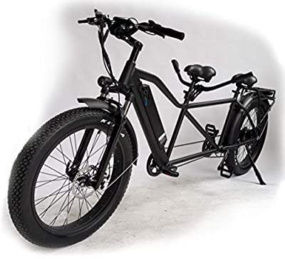 Fat Tire Electric Tandem 2 Persons Bike Bicycle