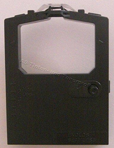 5x Farbband -schwarz- für OKI Microline 390 FB- OKI ML 5320 kompatibel