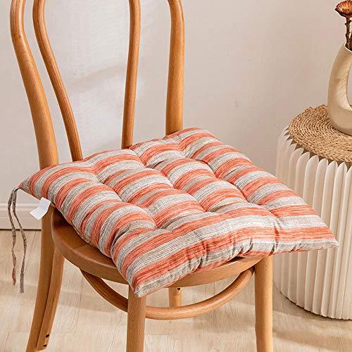 Yumhouse Almohadillas de Fieltro Adhesivo,Cojín de impresión Grueso de 4 Piezas, cómodo cojín para Silla de sofá-U,Cojín para el Suelo