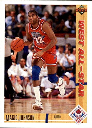 1991-92 Upper Deck Basketball #57 Magic Johnson All-Star
