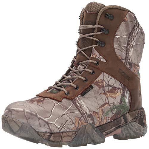 "WOLVERINE Men's Archer 2 8"" Ankle Boot, Brown, 8.5 W US"