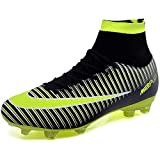 BOLOG Football Boots Men's High Top Spikes Soccer Training Shoes Kids Soccer Boots