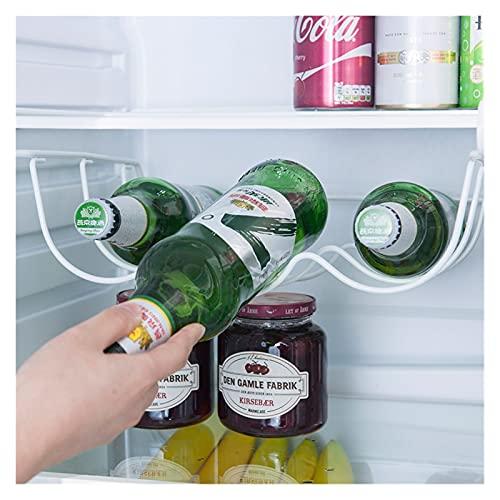 yqs Estantería de Vino Frigorífico Organizador Cocina Almacenamiento Rack Refrigerador Botella Botella Colgante Estante Estante Vino Holder Armboard Organizador Estantes