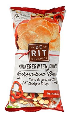 De Rit Kichererbsen-Chips mit Paprika (75 g)