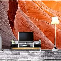 Djskhf カスタム任意のサイズの3D写真の壁紙Hd風景美しいミニマリストの壁のリビングルームの背景防水3D 240X165Cm