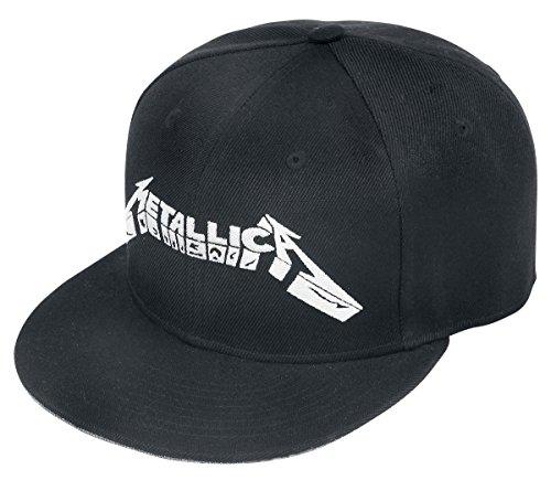 Générique Casquette réglable Metallica Bootleg MOP Cover Noir