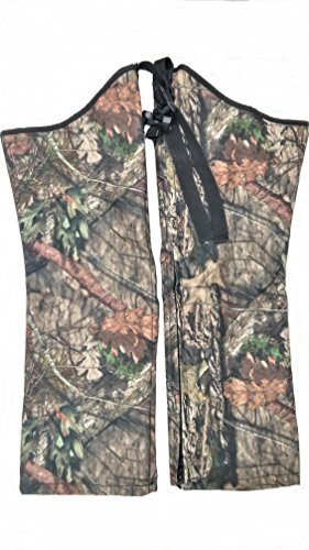 Snake Chaps for Kids - Youth Size Snake Chaps - Snake Bite Protection for Children (Mossy Oak, XLarge Stocky)
