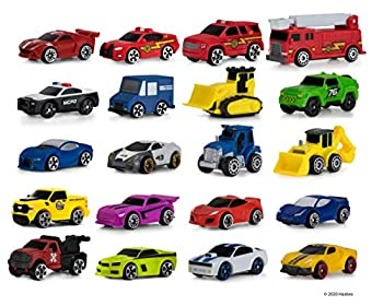 Micro Machines Super 20 Pack – Toy Car Collection Features 20 Exclusive Vehicles  Tractor Police Car Tow Truck Backhoe Bulldozer Mail Truck & More  - Amazon Exclusive