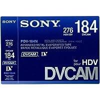 PDV-184N/3 DVCAM/HDVテープ 184分