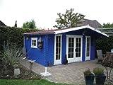 45 mm Gartenhaus Gustav ca. 500x380 cm (unbehandelt)