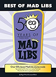 Word games for writers, purple Mad Libs pad