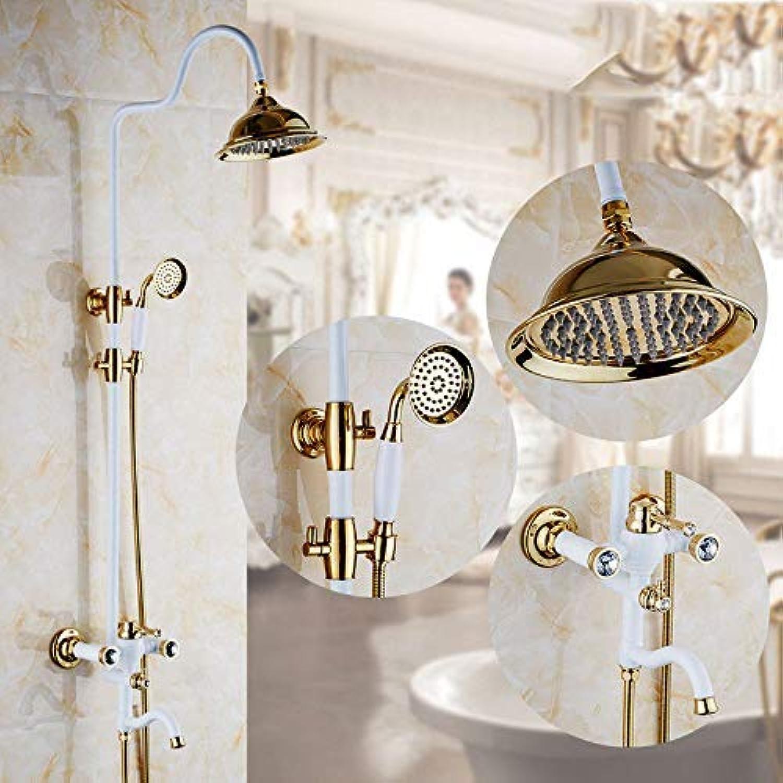 GFF Dusche Kupferduschthermostat Dusche Duschset Europische Dusche Badewanne Dusche Mischbatterie