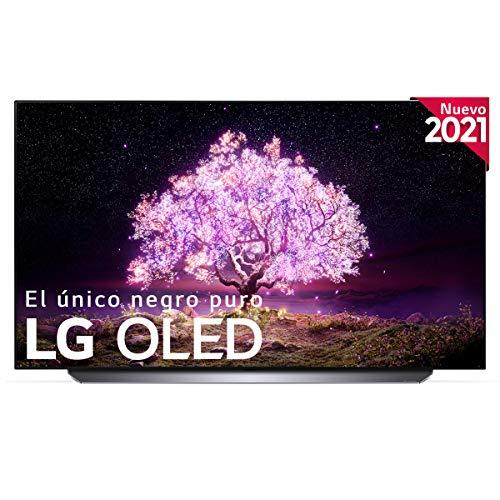 LG OLED OLED77C1-ALEXA 2021-Smart TV 4K UHD 195 cm (77') con Inteligencia Artificial, Procesador Inteligente α9 Gen4, Deep Learning, 100% HDR, Dolby ATMOS, HDMI 2.1, USB 2.0, Bluetooth 5.0, WiFi