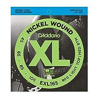 DADDARIO ダダリオ ベース弦 EXL165 Nickel Wound Bass Light Top Medium Bottom 45-105